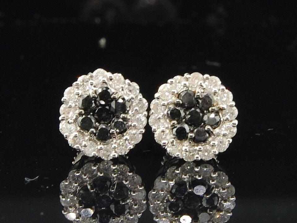 .10 CT Véritable Diamant Rond CUT Single Stud Earring 14KT