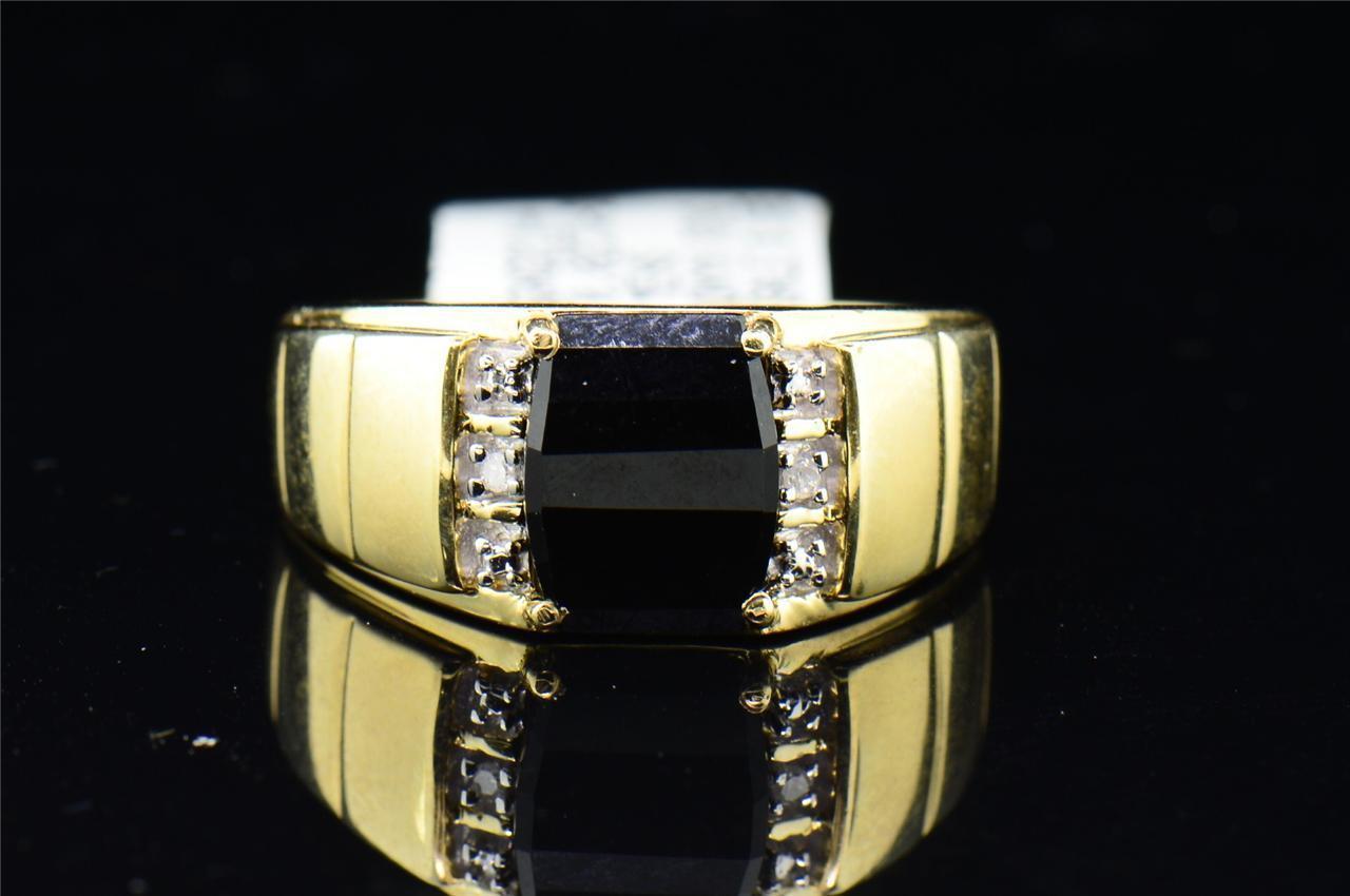 8 MM negro de hombres de acero inoxidable crucifijo anillo de bodas anillo cruzado talla 9-13