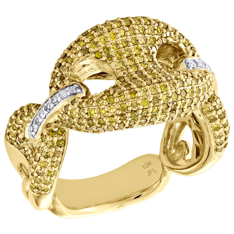ETERNITY HOMME en or Figaro Lien Chaîne Bracelet En Or 14K