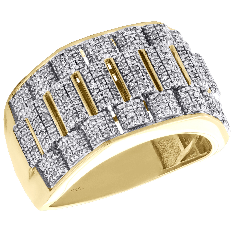 Luxe Bijoux Taille 7 topaze bleue 10K Black Gold Filled Femmes Anneau Mariage Cadeau