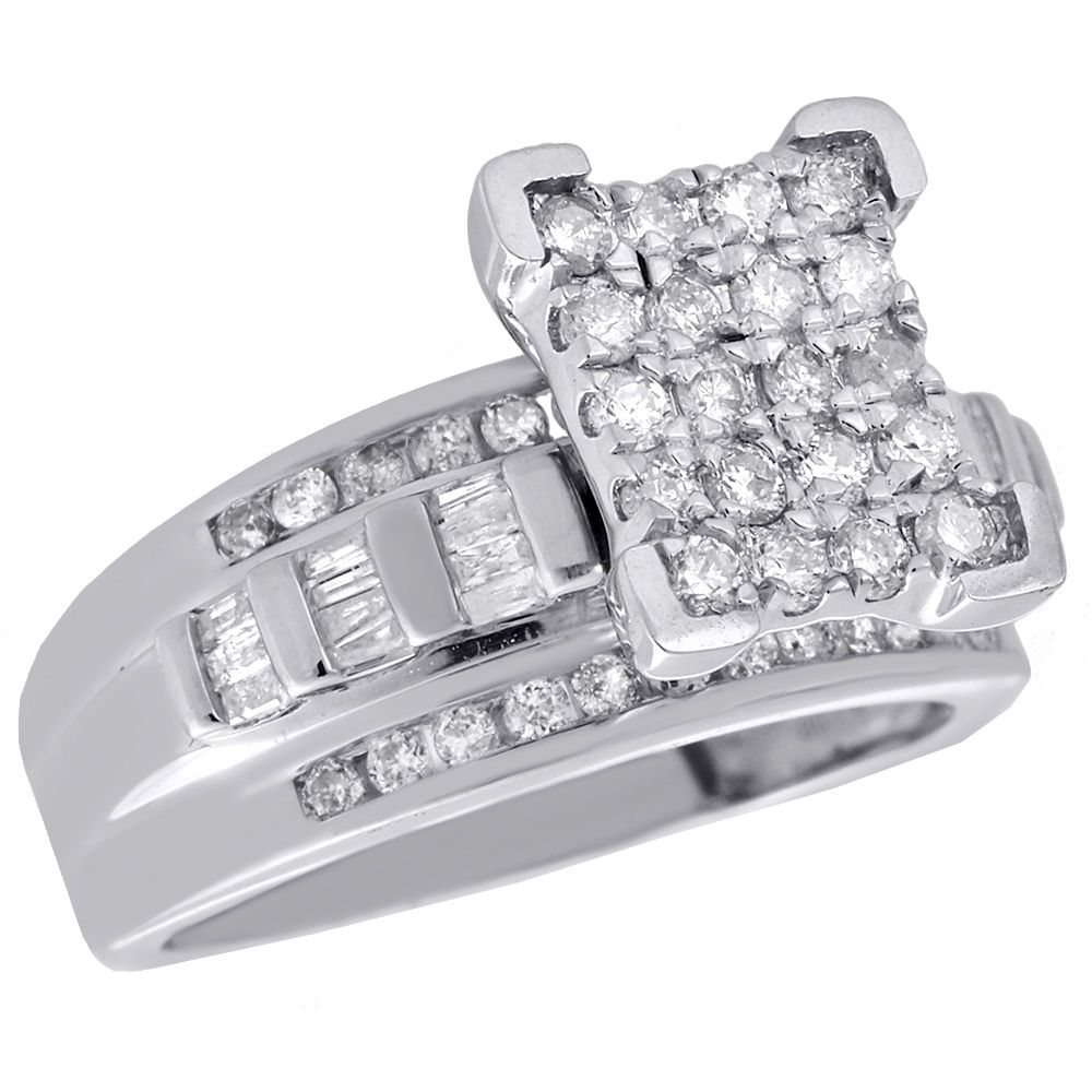 "2.25CT Round Cz  .925 Sterling Silver Bracelet 7 1//4/"""