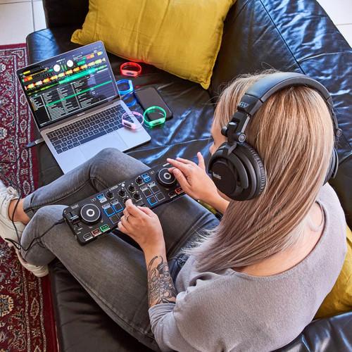 Hercules Dj Festa Conjunto Com Djcontrol Starlight controlador, Hdp DJ45  fones de ouvido, & L | eBay