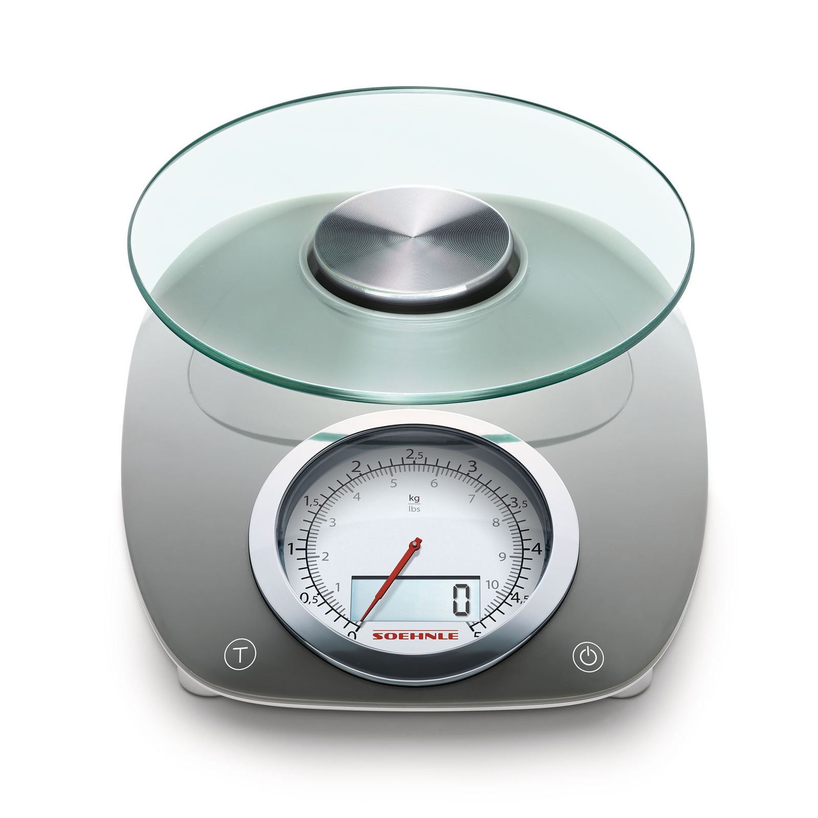 Details about Soehnle Vintage Style Digital Kitchen Scale, Gray